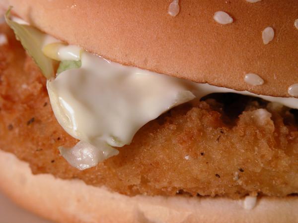 fast food calories