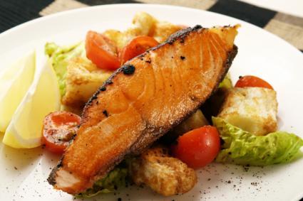 salmon protein diet