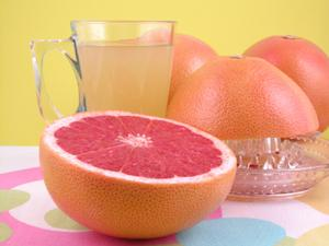 grapefruit and juice