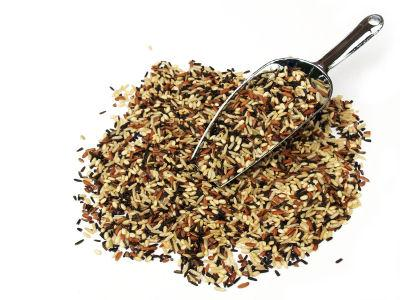Brown and wild rice are examples of complex carbohydrates.