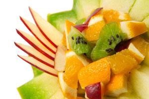 fruit filled melon