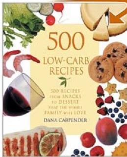 500 low carb recipes including breakfast