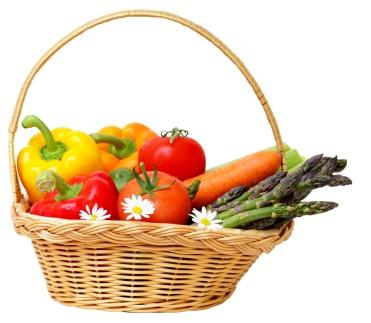 basket of veggies