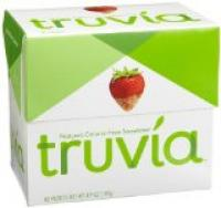 Truvia sweetens without bitter aftertaste.