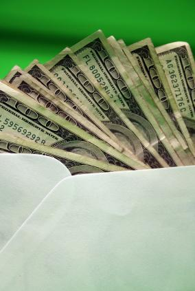 Envelope of money