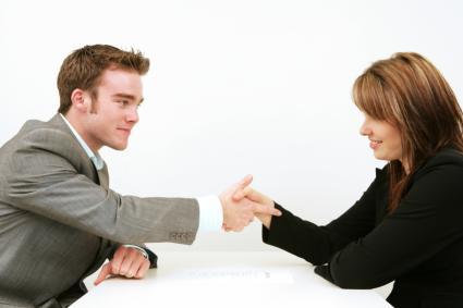 handshake accross table