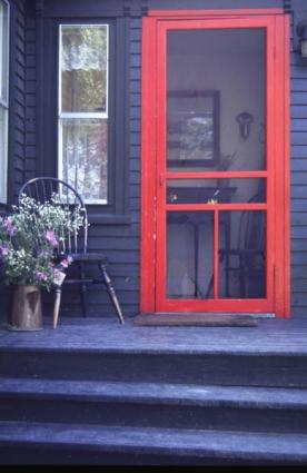 Screen Doors With A Dog Door