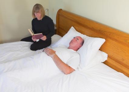 Death bed vigil