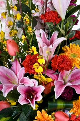 Funeral flowers need a short thank-you.