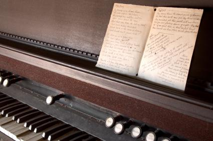 Hymns play a vital role at a funeral.