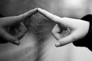 Finding a Name on the Vietnam Veteran's Memorial