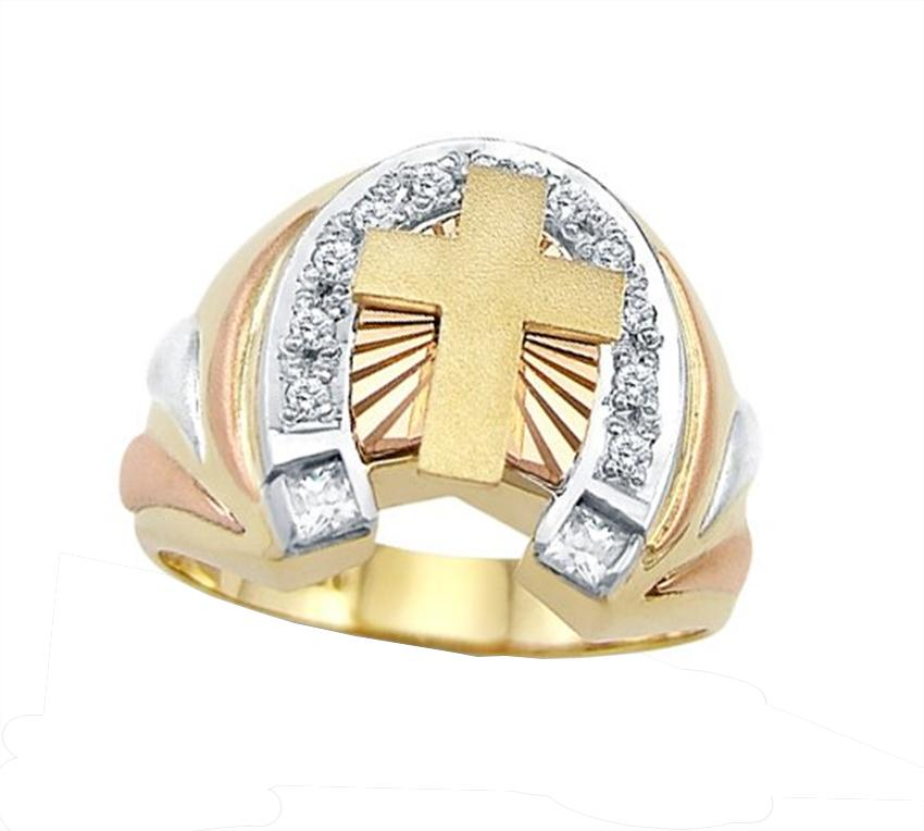 mens horseshoe - Horseshoe Wedding Rings