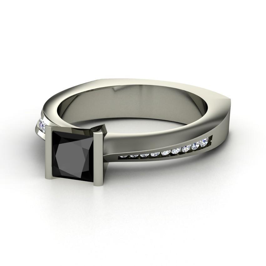Black Diamond Engagement Rings [Slideshow]