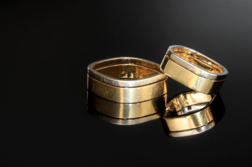 pictures of unique alternative wedding rings