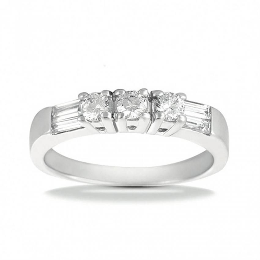 platinum diamond band on amazoncom - Big Diamond Wedding Rings