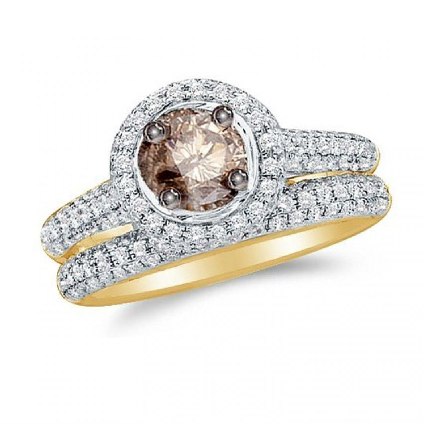 brown diamond enement ring pictures lovetoknow 25 cute chocolate - Chocolate Diamond Wedding Ring Sets