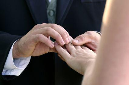 wedding ring ceremony