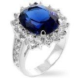 Princess Diana Inspired Blue Sapphire