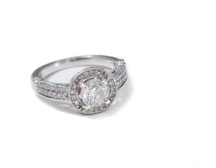 Round Vintage Diamond