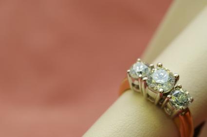 Three-Stone Diamond Ring