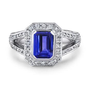 Shopping For Tanzanite Engagement Rings