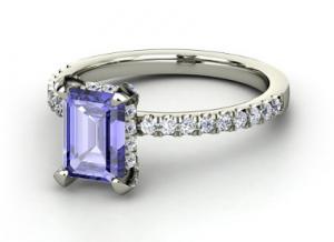 Reese Tanzanite Ring