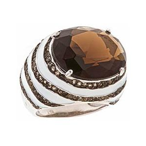 Brown CZ Ring from Max & Chloe
