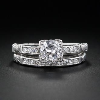 Shopping For Art Deco Wedding Ring Sets