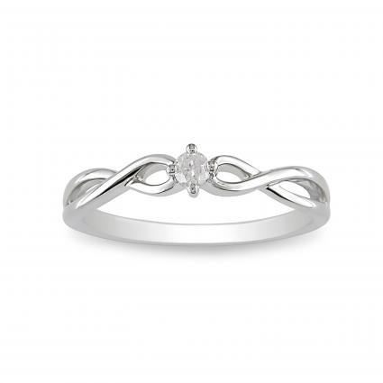 Twisted Band Engagement Ring Ideas