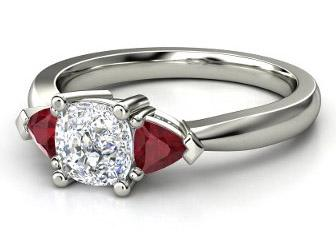 rings accent and engagement white ruby tanzanite diamond products accents ring gold with