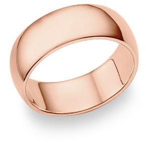 rose gold band