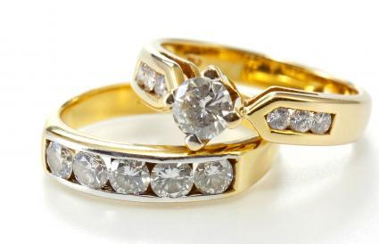 Channel set diamonds