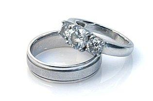white gold rings - White Gold Wedding Rings