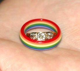 gay engagement rings - Gay Wedding Rings