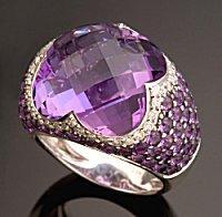 amethyst wedding rings - Amethyst Wedding Rings