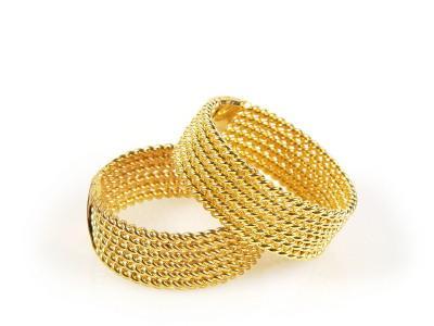 braided wedding bands