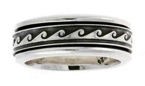 Wave Wedding Ring