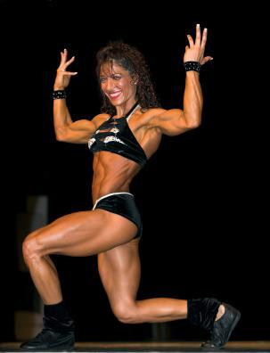 Female bodybuilding competition