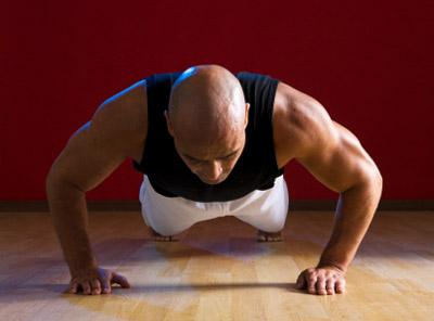 Isometric pushup