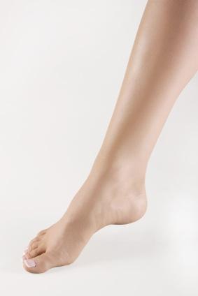 Woman's leg