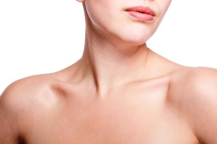 Tighten turkey neck with exercise