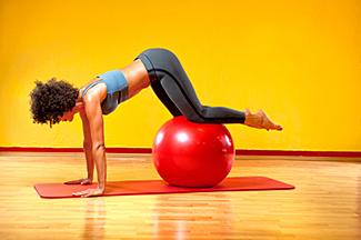 Stability Ball Roll-Out