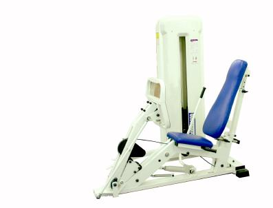 Machine weight leg press