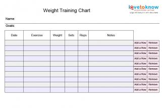 Images Of Gym Training Plan Template