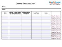 Exercise Printables Index