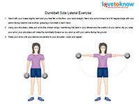 side laterals dumbbell exercise