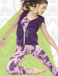Zumba aerobics clothing
