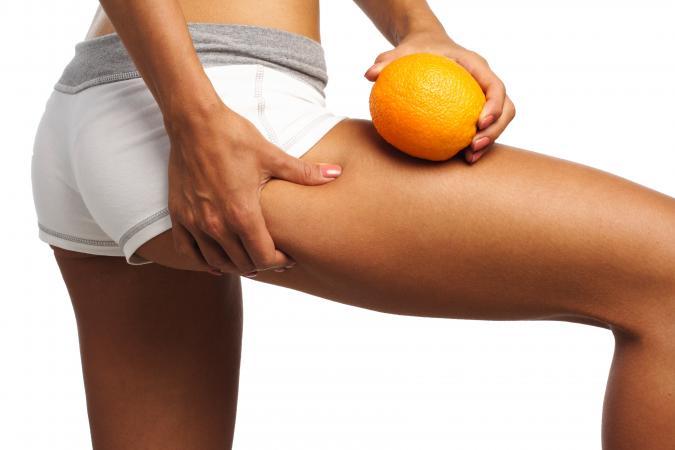 Cellulite-free leg
