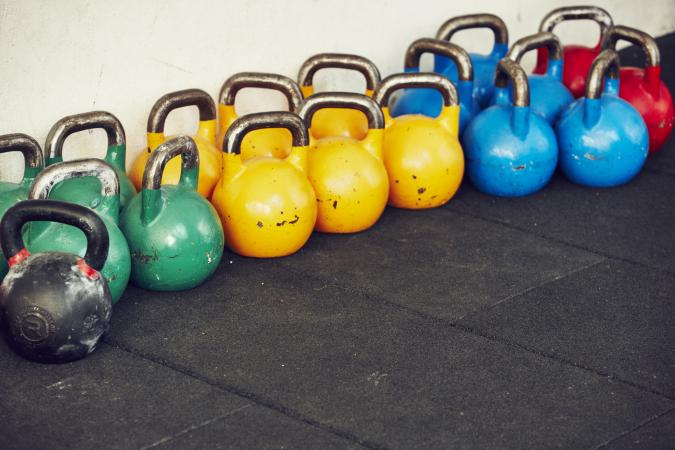 weights in gym