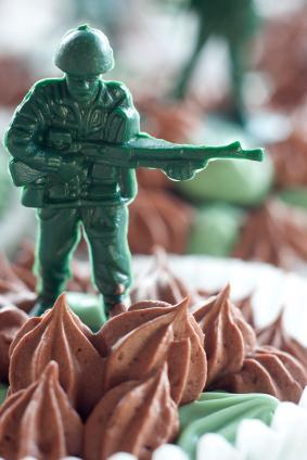 Military Cupcake